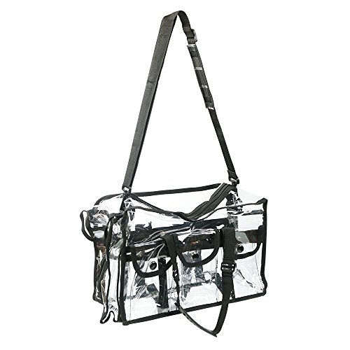Up Bag Large Toiletry Travel Make Zipper PVC Cosmetic Clear Transparent Plastic 060Spf