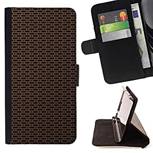 BullDog Case - FOR/Apple Iphone 6 PLUS 5.5 / - / Texture Simple /- Monedero de cuero de la PU Llevar cubierta de la caja con el ID Credit Card Slots Flip funda de cuer