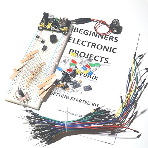 Beginners Electronic Starter Kit including projects and components ...