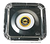 45PACK Aluminum Foil Square Stove Burner Covers Range Protectors Bib Liners Disposable Gas Burner Bibs Gas Top Liner Stove Easy Clean - (8.5'' Square) from Spare