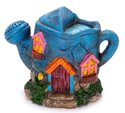 Watering Miniature Garden Building Figurine