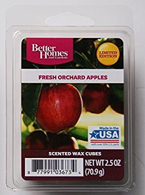 Better Homes and Gardens Fresh Orchard Apples Wax Cubes