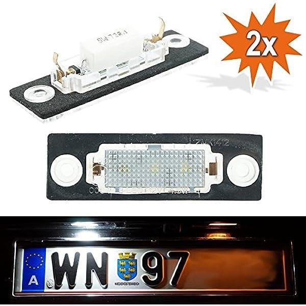Do.LED WP2LED matrícula con certificado E: Amazon.es: Coche y moto
