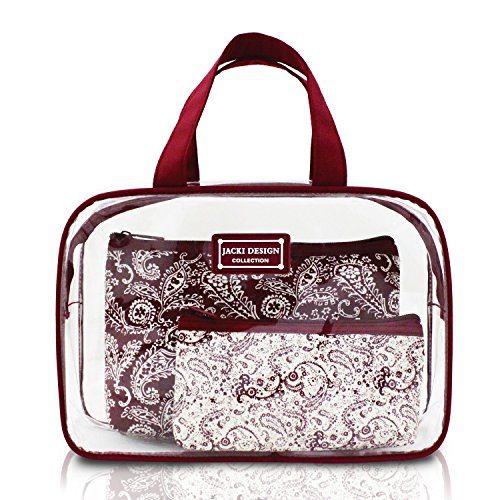 jacki-design-mystique-3-pc-travel-cosmetic-bag-set-w-top-handles-red
