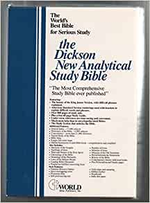 KJV - Dickson's New Analytical Study Bible by Thomas ...