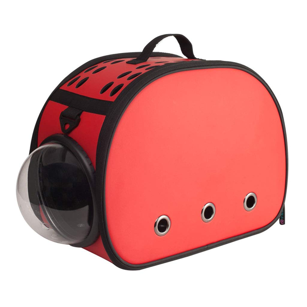 Pet Carrier Space Capsule,Bubble Window Lightweight Padded Traveler for Cats, Dogs, Small Animals w Breathable Air Holes