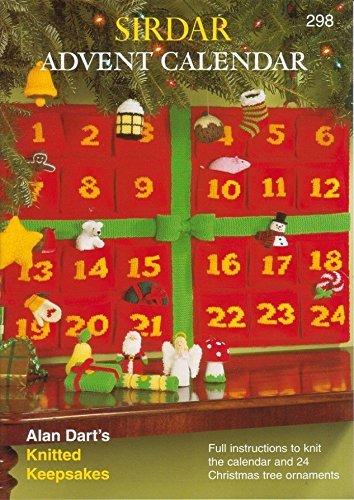 Sirdar Knitting Pattern Book 298 - Advent Calendar by Alan Dart by Sirdar by Sirdar