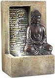 SINTECHNO SFT-1199 Buddha Table Top Water Fountain, 10-Inch