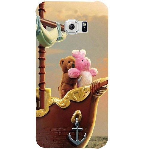 Casotec Funny Titanic Design Hard Back Case Cover for Samsung Galaxy S6
