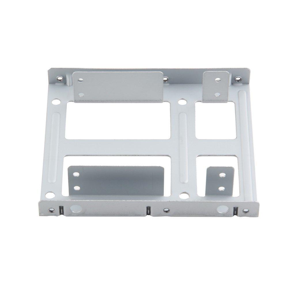 De Aluminio de 2 bahías de 2,5 Pulgadas Disco Duro SSD Disco Duro ...