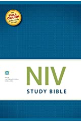 NIV Study Bible, eBook, Red Letter Edition Kindle Edition