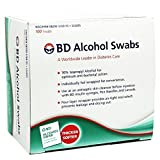 BD Alcohol Swabs 100 Each (Pack of 3)