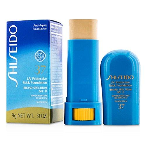 Shiseido Sun UV Protective Stick Foundation Broad Spectrum SPF 37 (Fair Ivory) 0.31oz/9g (Shiseido Foundation Face)