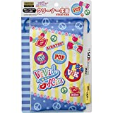 Aikatsu! New Nintendo 3ds Ll Corresponding Drawstring Pouch Cleaner Vivid Kiss