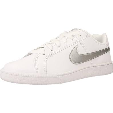 nouveau produit fc390 f6769 Nike Court Royale, Baskets Basses Femme: Amazon.fr ...