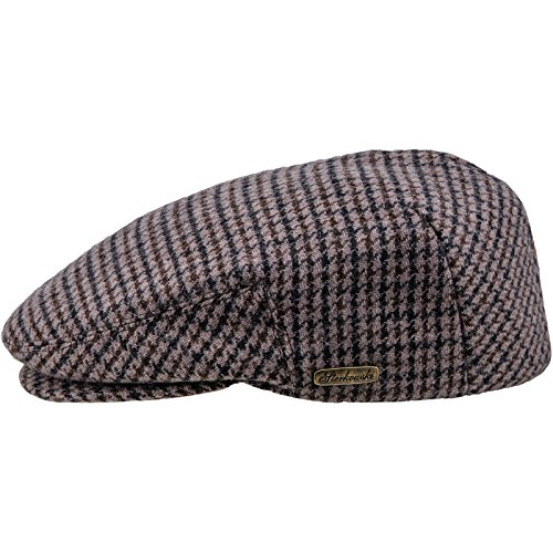Wool Warm Traditional Snap Bill Ivy League US 7 5/8 Brown/Black ()