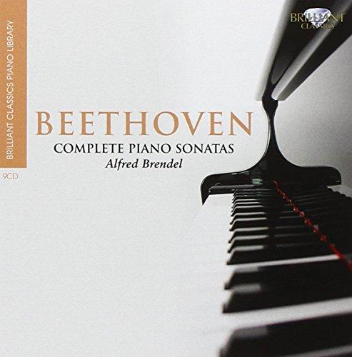 BEETHOVEN: Brilliant Classics Piano Library: Sonatas Nos. 1 - 32 Alfred Brendel Beethoven Piano Sonatas