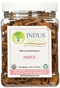 Indus Organics Mace Whole, 6 Oz Jar, Premium Grade, Hand Selected, Freshly Packed