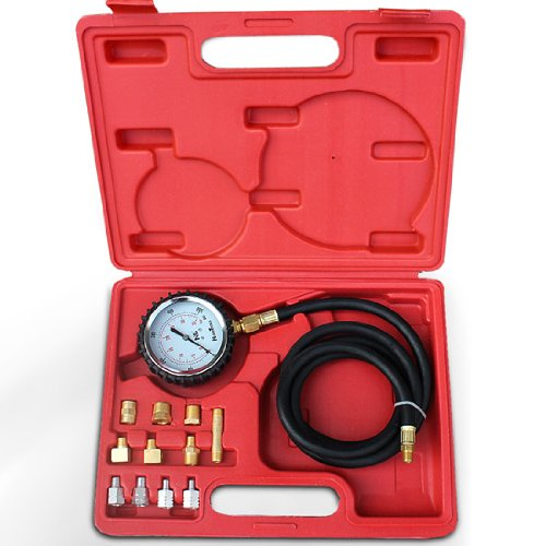 Jago Oil Pressure Gauge with Case and 11 Adapters Jago AG