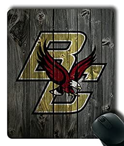 Boston College Eagles Wood Customized Rectangle Mouse Pad,Gaming Mouse Pad by ruishername