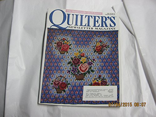 Quilter's Newsletter Magazine, May 2000, No. 322