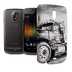 Phone Case For Samsung Galaxy Nexus i9250 - American Trucker Designer Back