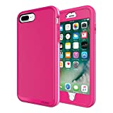 iPhone 7 Plus Case, Incipit Performance Series Max Protection [Shock Absorbing] Cover fits Apple iPhone 7 Plus - Berry Pink/Rose