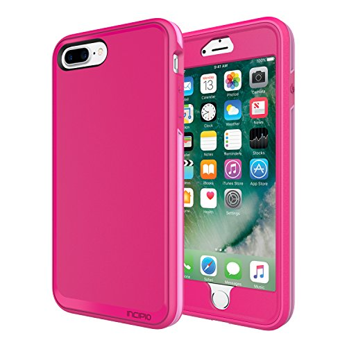 iPhone 7 Plus Case, Incipit Performance Series Max Protection [Shock Absorbing] Cover fits Apple iPhone 7 Plus - Berry Pink/Rose by Incipio