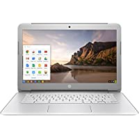 HP Chromebook 14-AK041DX - 14 HD - Intel Celeron N2840 - 4GB Ram - 16GB SSD - Silver