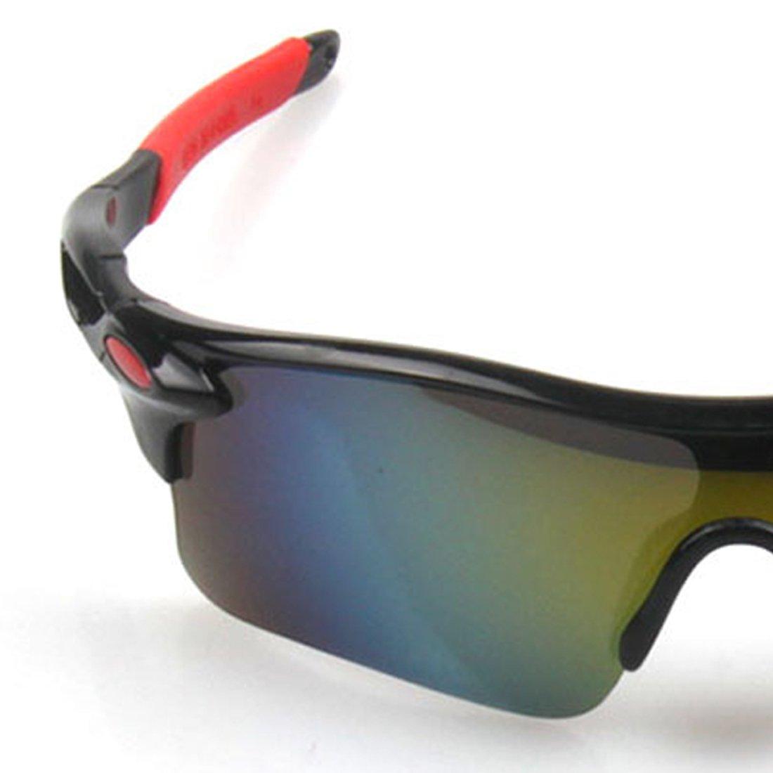 sports de plein air pour hommes//femmes Coupe-vent 1 paire de lunettes de cyclisme