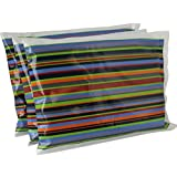 """Ice Pack for Lunch Boxes (3 Pack) by Bentology (6""""x4.5"""") - Stripe Design"""