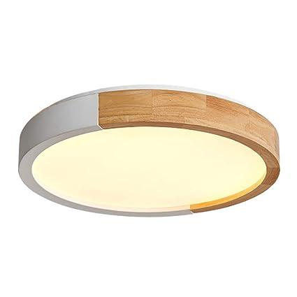 Moderna Salón Dormitorio Regulable LED de Acrilico de Luz de ...