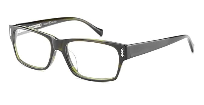 Lucky Brand Cliff Eyeglasses Olive Horn at Amazon Men\'s Clothing ...