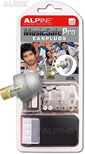 Alpine Hearing Protection – MusicSafe PRO Earplugs for Musicians – GREY