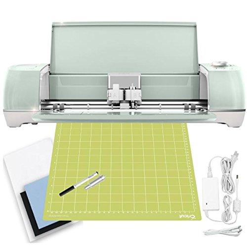 Cricut Explore Air 2 Machine Bundle - Heat Transfer, Vinyl Pack, Tools Pens & Designs