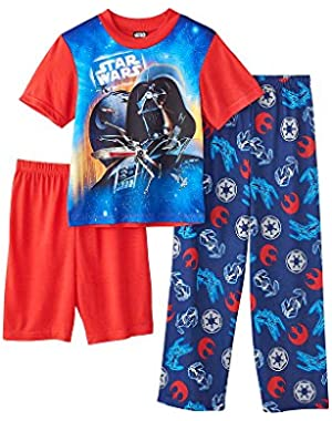 Boys' 4-10 3-Piece Star Wars Xwing Rebel Set
