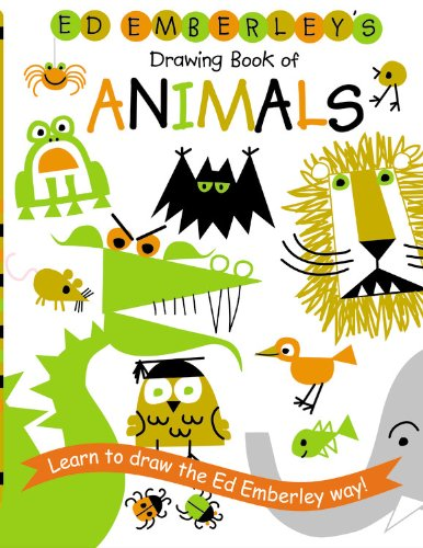Ed Emberley's Drawing Book Of Animals (Turtleback School & Library Binding Edition) (Ed Emberley Drawing Books)