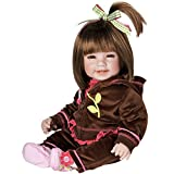 Adora Toddler Workout Chic 20' Girl Weighted Doll Gift Set for Children 6+ Huggable Vinyl Cuddly Snuggle Soft Body Toy