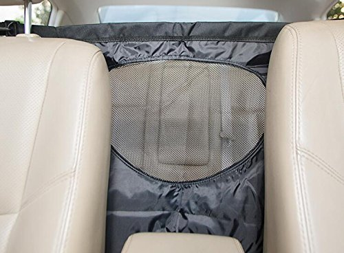 Lifepul Pet Net Barrier (TM) Dogs Backseat Barrier Mesh Obstacle Dog Car Fence Mesh, to Keep Your Pets and Drivers Safety inTravel, One Size Fit Most & Easy to Install for Car,SUV,Truck, by Lifepul (Image #6)