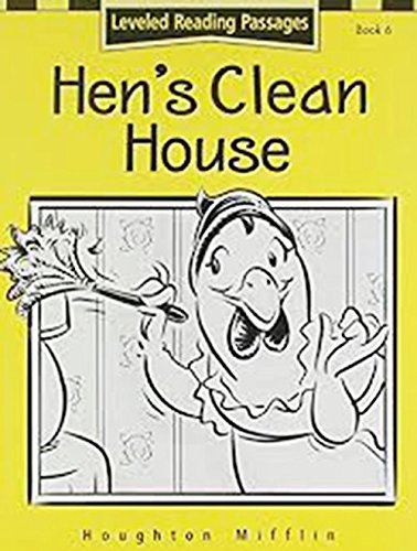 Houghton Mifflin Reading: The Nation's Choice: Hen'S Clean.. Lv Lv 1 pdf epub