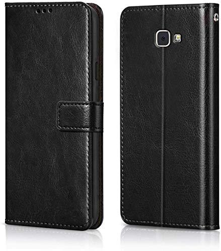 MV Flip Case Cover For Samsung Galaxy J5 Prime   Black