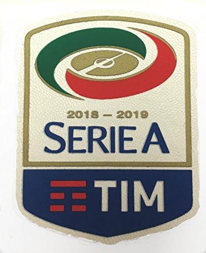 Official Serie A Tim 2018-2019 Soccer Patch Italian League Football Badge ()