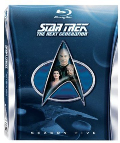 Star Trek:  The Next Generation:  Season 5 [Blu-ray]