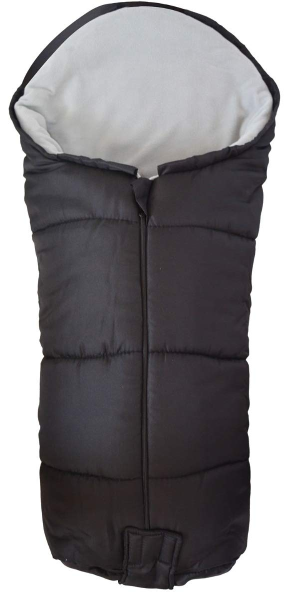 Grey Universal Deluxe Pushchair Footmuff//Cosy Toes Fits All Pushchairs//Prams//Buggies