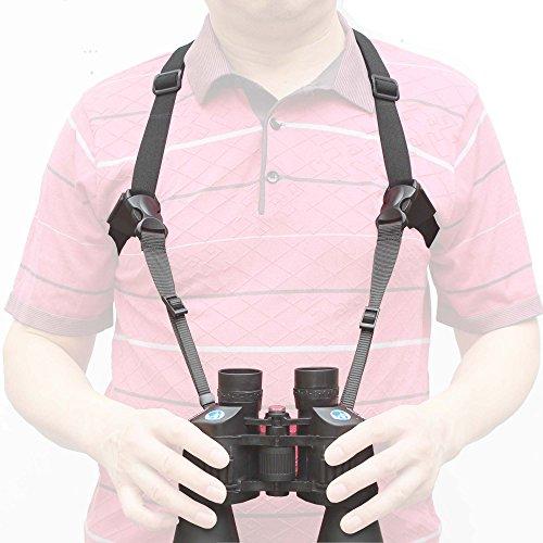 4 Way Adjustable Quick Release Binocular Shoulder Strap Binocular Harness Decompress Camera Holder Strap Harness NO Binoculars