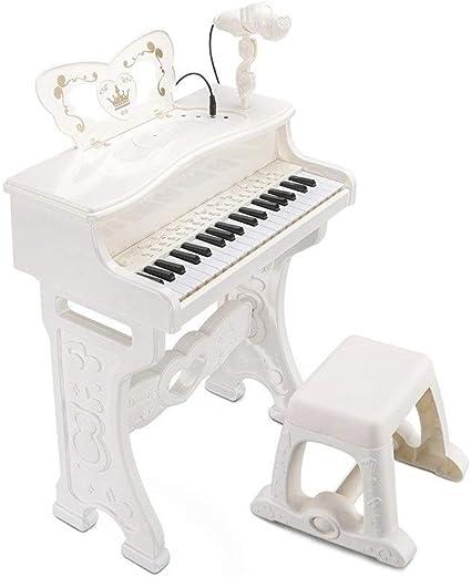 HXGL-piano El Teclado Multifuncional for niños con micrófono ...