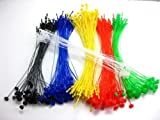 3000 Tags 6 Colors Combo 500 Each Plastic Snap Lock Loop Pin Security Ties Fastener Manual No Tag Gun Required