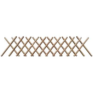 Festnight extensible Jardin Treillis en bois Clôture Panneaux d ...