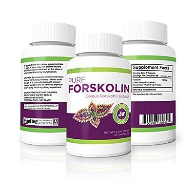 100% Pure Forskolin - Maximum Strength Fat Burner & Muscle Builder
