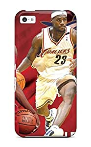 Hot YjPegUh2659gJUcP Cleveland Cavaliers Nba Basketball (11) Tpu Case Cover Compatible With Iphone 5c